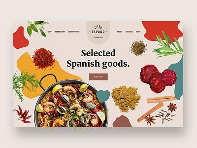 Casa Espana - WIP restaurant cuisine gourmet spanish spain espana website