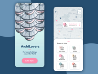 Travel App for Architecture