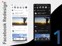 Facebook home Redesign