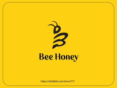Bee logo concept | Bee honey logo design illustration app icon design logo graphic design branding