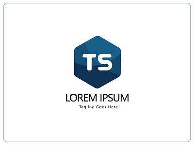 TS letter mark logo | TS logo concept ux ui vector illustration icon app branding logo design graphic design