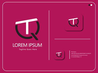 QT letter mark | QT logo concept design ux graphic design ui vector app illustration icon branding logo
