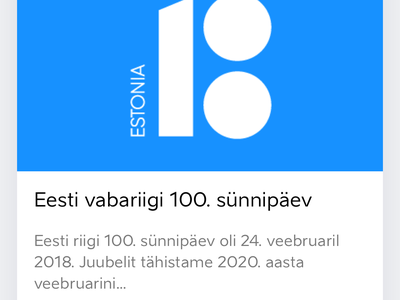 Eesti.ee Reimagined - Mobile design blue sketchapp eesti.ee landing estonianmafia estonia mobile web ux ui