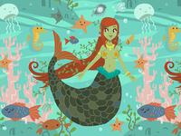 Mermaid Pattern