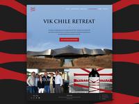 Winery retreat web site design