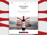 Our wines page