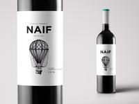 Naif Wine Label