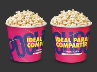 Cinema Popcorn bucket option 3