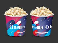 Cinema Popcorn bucket option 1