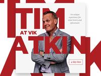 Tim Atkin social poster