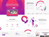 Mow Player landing page