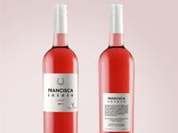 Francisca Wine Label Design