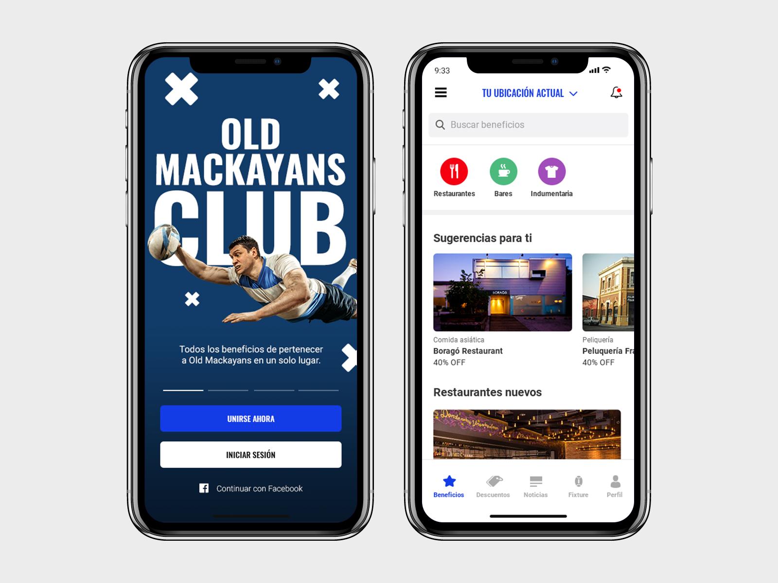Oldmackayans app dribbble