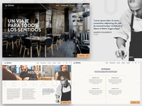 La Dicha Restaurant Web Design