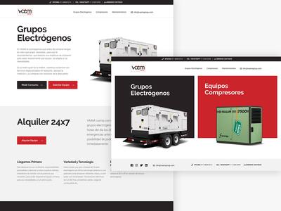 Vamm Group Website