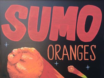 Sumo Orange Meteors Strike
