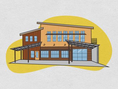 Letterpress & Publick House Illustration