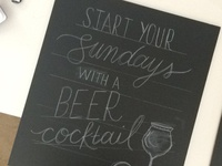 JFBH Start Your Sundays Sketch