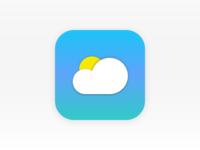 DailyUI #005 - Weather App Icon