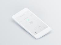 DailyUI #007 - Thermostat Settings