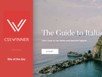 Site Of The Day Award - The Guide to Italian Living