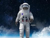 Astronaut Feet