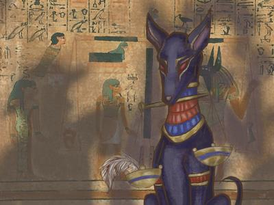 Mythical Threads: Jackal