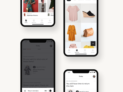 Hey wardrobe, meet the internet icons cards reminder toast iphonex inspiration fashion alerts feed grid clothes ios