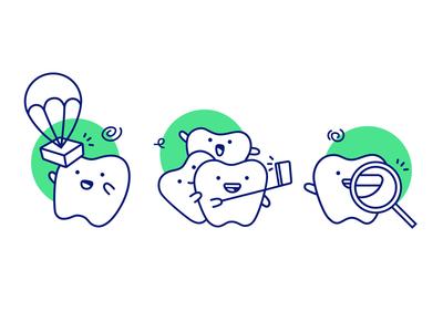 Teeth Illustrations