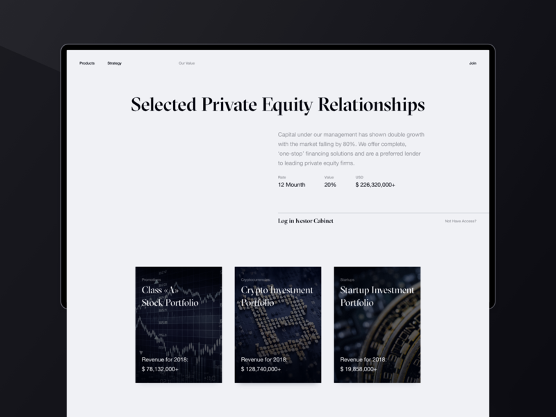 White Castle Capital finance capital fund investment invest typography white ux design helvetica black desktop brand ux ui website design web clean minimal