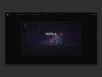 Lootspot game marketplace platform animation helvetica typography desktop ux ui website design web minimal clean
