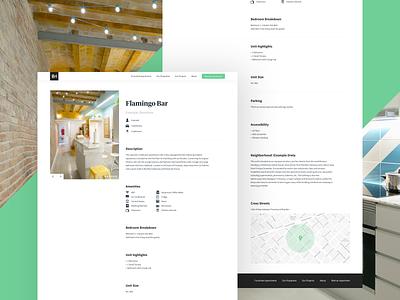 Barcelona Homes | Individual Home branding web barcelona logo design website landing page ux ui clean apartments booking real estate kono