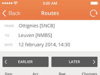 Route full screen