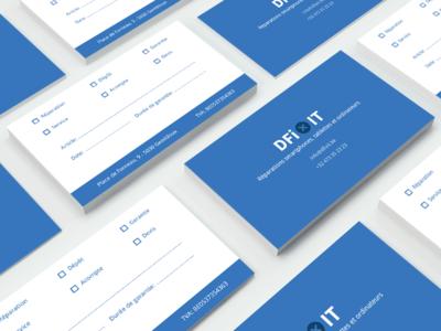 DFixit Business Cards