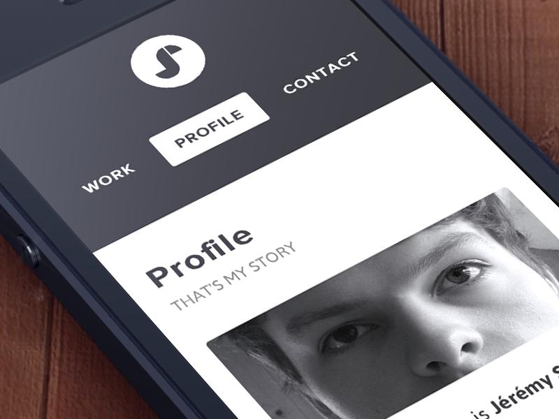 New website coming soon portfolio website webdesign design logo ios responsive iphone white profile mobile interface clean minimalist belgium