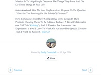 Hackerblog Footer