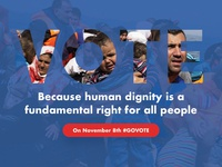 GoVote for human dignity
