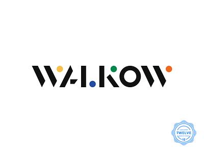 Logo for Walkow Bar & Cultural Center visual design visual identity shapes colors logolounge minimal logo logomark type logo designer bar logo identiy brand identity bar minimal design branding typography logotype logo designs logo design