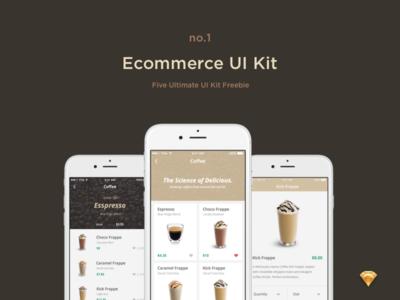 Ecommerce UI Kit - Freebie