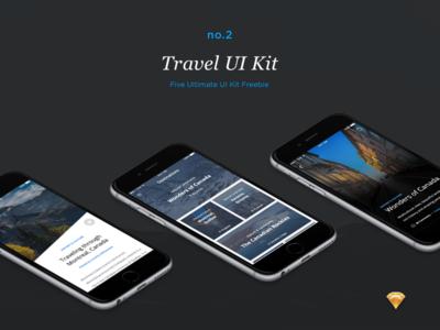 Travel UI Kit (Freebie)