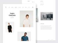 Minimal Creative / Fashion Store Template