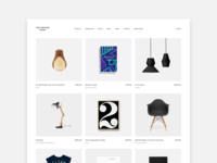 The Design Shop - website