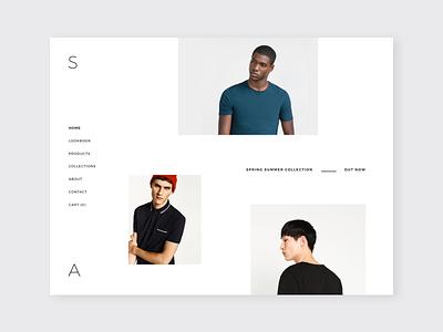Minimal Creative / Fashion Store Template web minimal design design shop design store ecommerce store web store web shop shop web design website