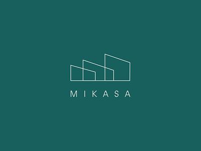 Mikasa Studio - Branding hotel booking accommodation hotel business cards type typography identity branding brand identity print design print visual identity logo design branding minimal design logo