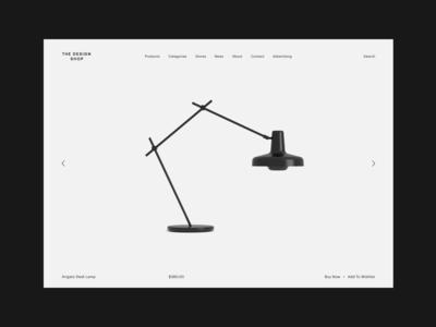 The Design Shop -  Product slider