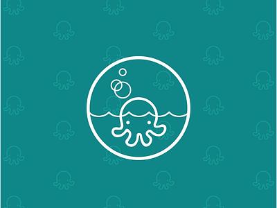 Buzz + Bubble Icon Concept illustration badge icon