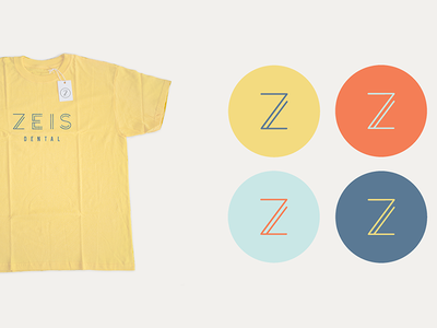 Zeis Dental Brand Icons badge design identity branding logo icon