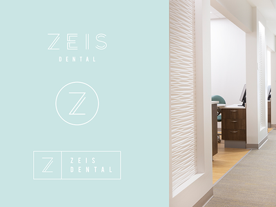 Zeis Dental Logo Suite branding and identity branding logo design logotype logo