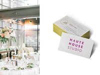 Haute House Studio Business Cards