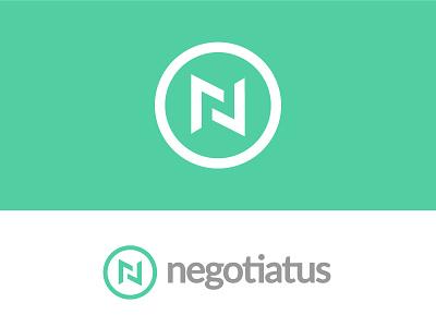 Negotiatus Identity Exploration logotype mark logo green feedback rebrand n negotiation design graphic identity branding
